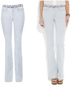 Jean flare bleach MIH Jeans