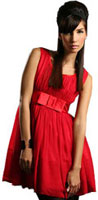 Robe rouge PPQ Exclusive