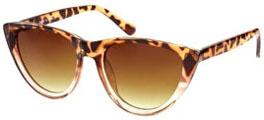 Lunettes de soleil léopard Asos