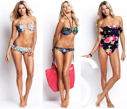 Maillots fleuris Seafolly
