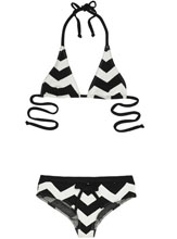 Bikini noir et blanc Undrest