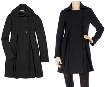 Manteau femme les petites