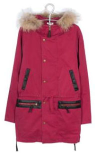 Parka rose Bel Air