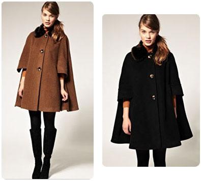 manteau cape femme asos. Black Bedroom Furniture Sets. Home Design Ideas