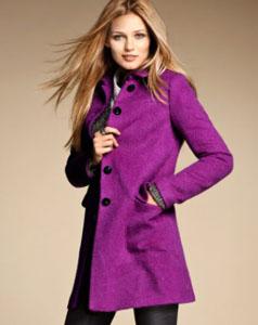 Manteau violet H&M