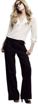 Pantalon large classique Hartford
