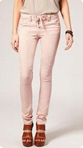 Jeans et pantalons prennent des couleurs le blog beaut for Que porter avec du gris