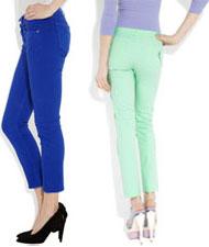 Pantalons colorés