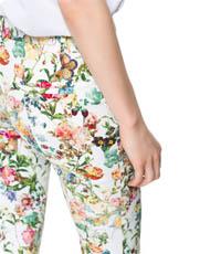 Le pantalon imprimé, grande tendance printemps-été
