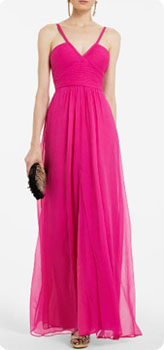 Robe rose BCBG
