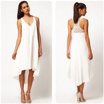 Robe blanche Jarlo