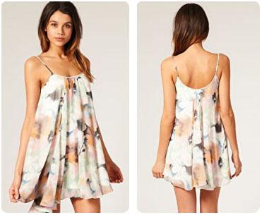 Mini robe trapèze Asos