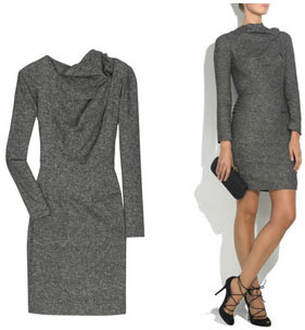 Robe courte hiver manches longues