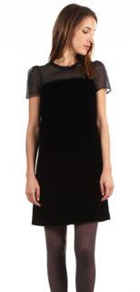 Robe noire Tara Jarmon