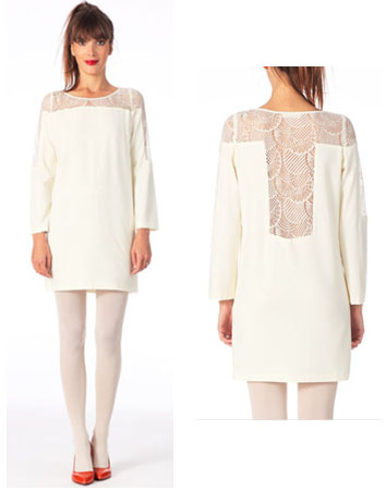 Robe de soirée blanche Ba&sh