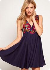 Robes de soirée pour les fêtes, shopping glam' !