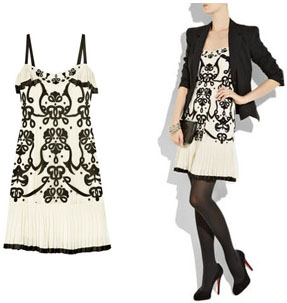 Robe rétro Temperley London