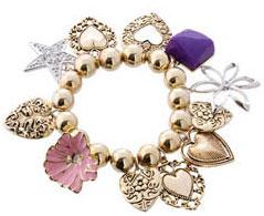 Bracelet breloques Guess