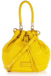 Sac jaune Marc by Marc Jacobs