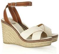 Sandales compensées Castañer