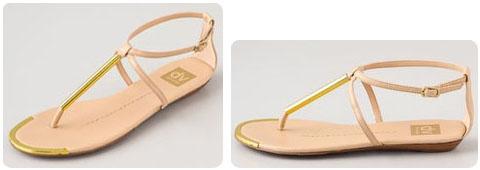 Sandales plates Dolce Vita