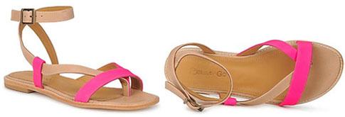 Sandales été 2012   toutes à plat ! - Le Blog Beauté Femme 077bfb31acb1
