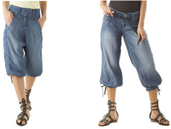 Impossible d\u0027évoquer les pantalons d\u0027été sans un détour par la combinaison.  Certaines la connaissent déjà en version short mais cet été, la combi se  décline