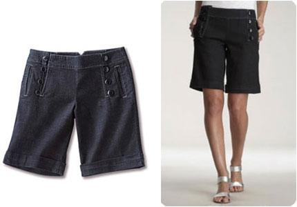 shorts et bermudas pour un t look e le blog beaut femme beaut femme. Black Bedroom Furniture Sets. Home Design Ideas