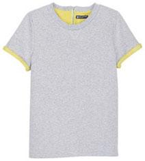 Tee-shirt en molleton Petit Bateau