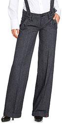 Pantalon à bretelles Esprit