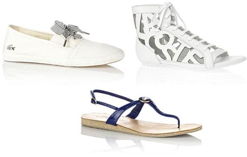 Chaussures été Lacoste
