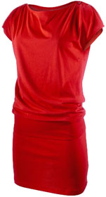 Robe rouge tendance Nike