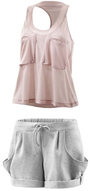 Tenue de yoga Stella McCartney pour Adidas