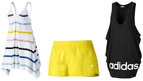 Robes et short Adidas