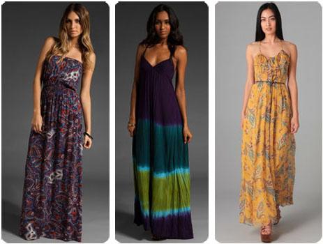 Robes longues printemps 2011