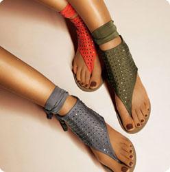 Sandales-tongs
