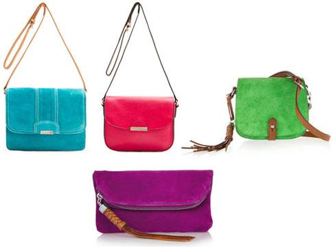 Sacs colorés tendances printemps 2012