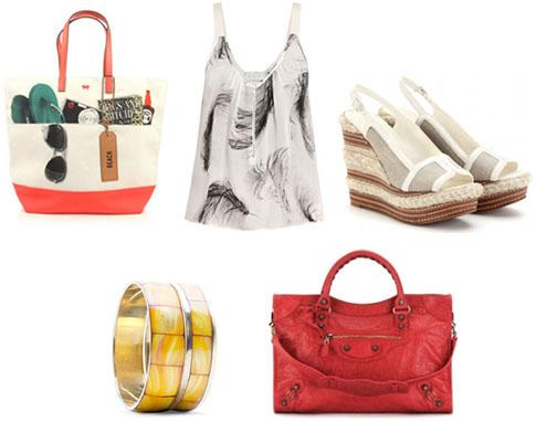 Shopping mode printemps-été 2012