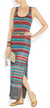 Maxi-dress crochet Haute Hippie
