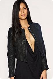 ... veste en cuir All Saints , fashion à souhait. 390.43 € chez Asos