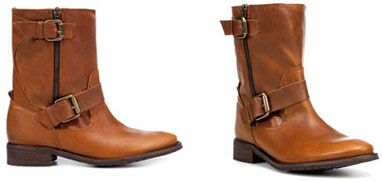 Bottines motardes Zara