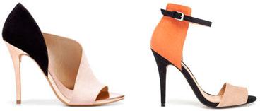 Sandales et chaussures à talons