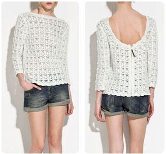 Pull crochet Zara