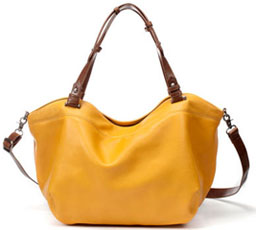Sac jaune moutarde Zara