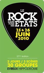 Le Rock dans tous ses Etats, 2010