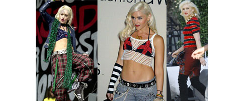 Gwen Stefani look punk