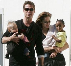 Angelina, Brad, Zahara et Siloh Nouvel