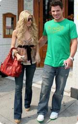 Jessica et Nick Lachey
