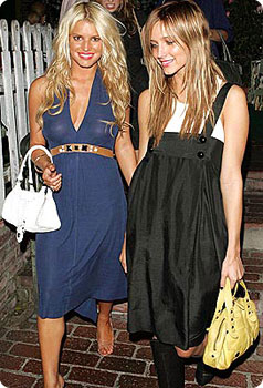 Jessica et Ashley Simpson