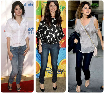 Look chic de Selena Gomez